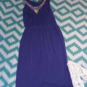 Signify purple maxi dress